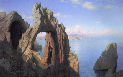 Haseltine William Stanley Natural Arch at Capri