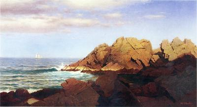 Haseltine William Stanley Rocks at Nahant