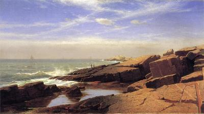 Haseltine William Stanley Rocks at Nahant2