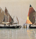 Haseltine William Stanley Italian Boats Venice