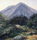Haseltine William Stanley Mountain Scenery Switzerland