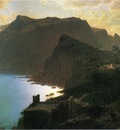 Haseltine William Stanley The Sea from Capri