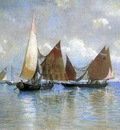 Haseltine William Stanley Venetian Fishing Boats