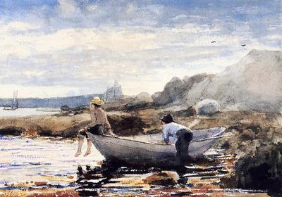 Homer Winslow Boys in a Dory