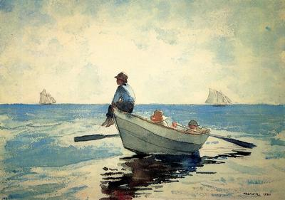 Homer Winslow Boys in a Dory2