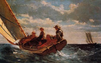 Homer Winslow Breezing Up aka A Fair Wind