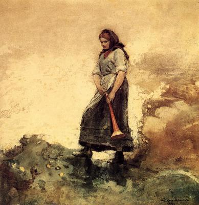 Homer Winslow Daughter of the Coast Guard