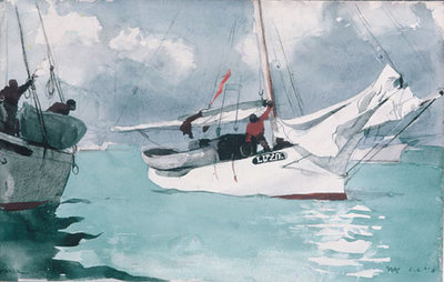 Homer Winslow Fishing Boats Key West