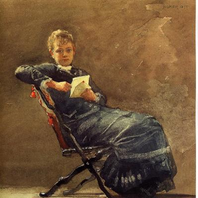 Homer Winslow Girl Seated