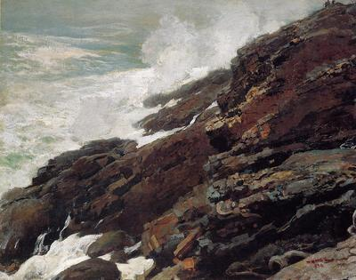 Homer Winslow High Cliff Coast of Maine