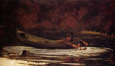 Homer Winslow Hound and Hunter