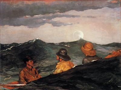 Homer Winslow Kissing the Moon