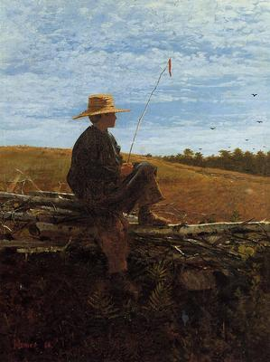 Homer Winslow On Guard