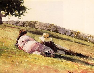 Homer Winslow On the Hill