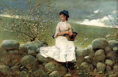 Homer Winslow Peach Blossoms