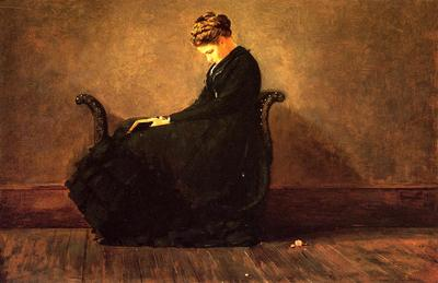 Homer Winslow Portrait of Helena de Kay