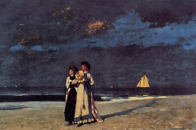 Homer Winslow Promenade on the Beach
