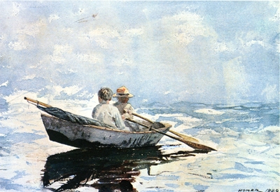 Homer Winslow Rowboat
