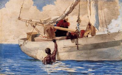 Homer Winslow The Coral Divers