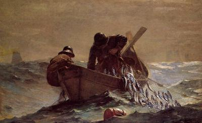Homer Winslow The Herring Net