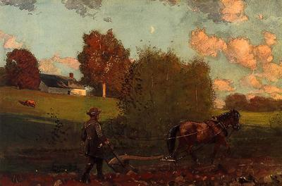 Homer Winslow The Last Furrow
