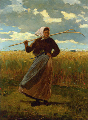 Homer Winslow The Return of the Gleaner