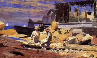 Homer Winslow Waiting for the Boats