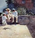 Homer Winslow Boys and Kitten