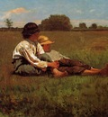 Homer Winslow Boys in a Pasture