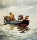 Homer Winslow Crab Fishing