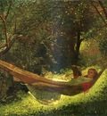Homer Winslow Girl in a Hammock
