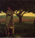Homer Winslow Girl in the Orchard