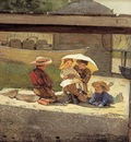 Homer Winslow In Charge of Baby