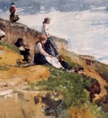 Homer Winslow On the Cliff