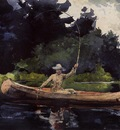 Homer Winslow Playing Him aka The North Woods
