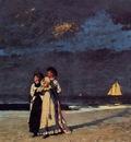 Homer Winslow Promenade on the Beach