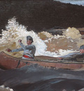 Homer Winslow Shooting The Rapids