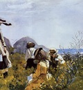 Homer Winslow The Berry Pickers