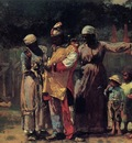 Homer Winslow The Carnival aka Dressing for the Carnival