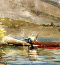 Homer Winslow The Red Canoe2