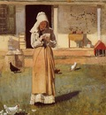 Homer Winslow The Sick Chicken