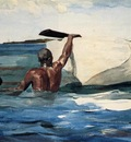 Homer Winslow The Sponge Diver