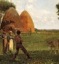 Homer Winslow Weaning the Calf