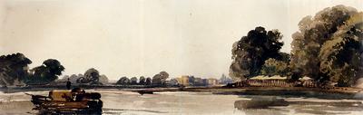 Wint Peter De Cookham On The Thames