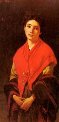 Zandomeneghi Federico Donna In Rossa