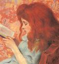 Zandomeneghi Federigo Young Girl Reading