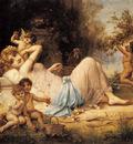 Zatzka Hans Venus And Her Attendants
