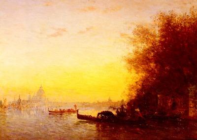 Ziem Felix Scene Venetienne