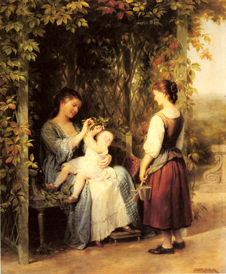 Zuber Buhler Fritz Tickling The Baby
