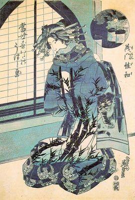 eisen, keisai japanese, 1791 1848